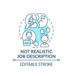 Information recruitment concept icon vector