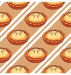 Pies Seamless Pattern vector image