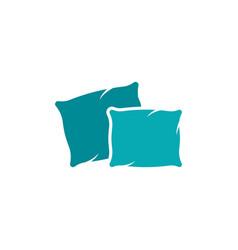 pillow icon design vector image