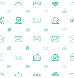 Send icons pattern seamless white background vector