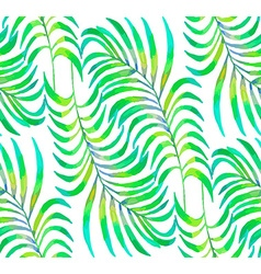 Palm Leaf pattern2 vector image