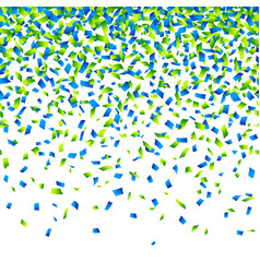 confetti background horizontally seamless vector image vector image