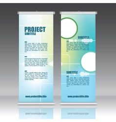 245 5 2016 roll up vector image