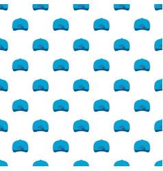Baseball cap back pattern seamless vector