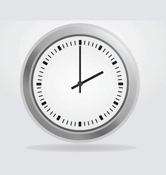 analog wall clock vector image