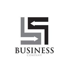 Income business management logo designs modern vector