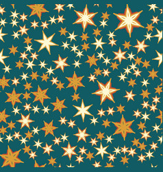 Many stars seamless print vector