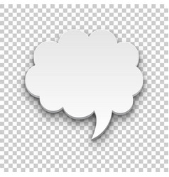 quote style form cloud transparent background vector image