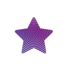 star logo minimal abstract symbol geometrical vector image