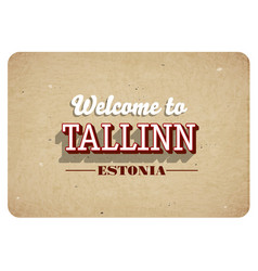 Welcome to tallinn vector