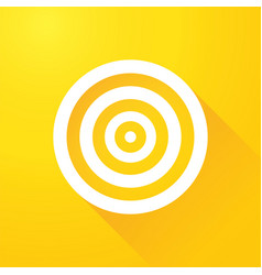 white target vector image