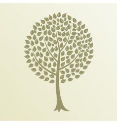 tree4 vector image vector image
