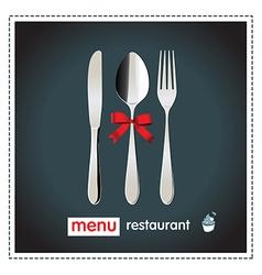 menu design happy vector image
