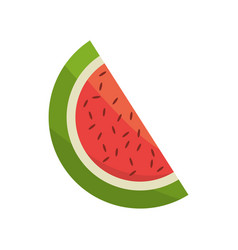 watermelon fruit fresh image vector image vector image