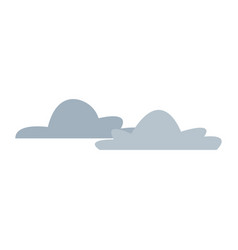 cloud climate weather sky icon vector image