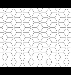 abstract geometric pattern with lines vector image