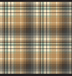 Beige abstract plaid seamless pattern vector