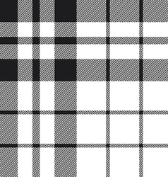 Hibernian fc tartan check plaid black and white vector