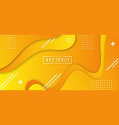 Minimalistic horizontal banner background vector