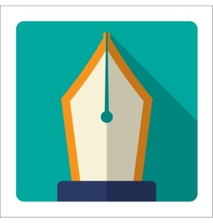 Pen tool vector image
