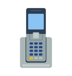 Telephones icon vector