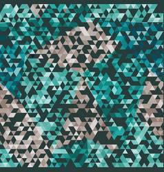urban triangle seamless pattern vector image