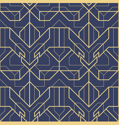 Abstract art deco seamless pattern 08 vector