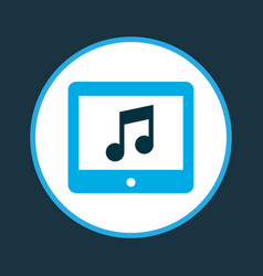 application icon colored symbol premium quality vector image