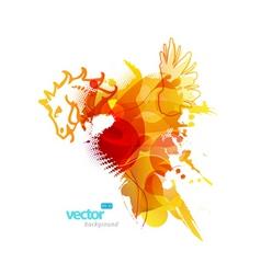 Artistic splash vector