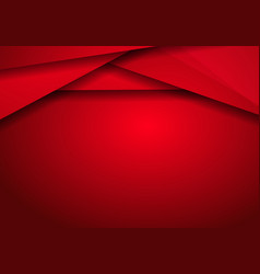 background metallic modern with red metal banner vector image