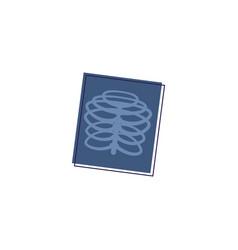 Flat x-ray vector