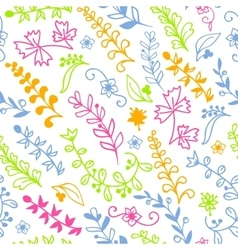 Floral seamless pattern for invitation card vector