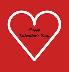 valentine day vector image
