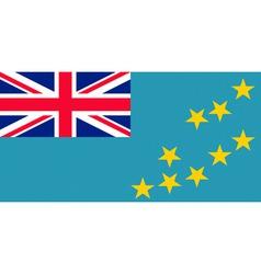 tuvaluan flag vector image vector image