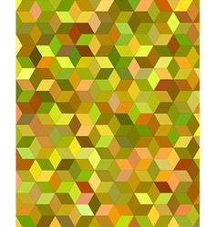 3d cube mosaic background design vector image vector image