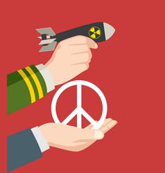 War or peace vector