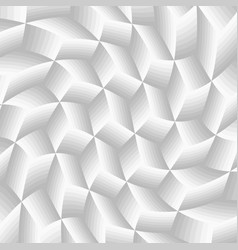 abstract gray twist cube background vector image