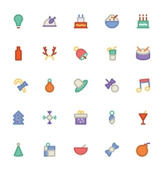 Christmas Icons 2 vector image