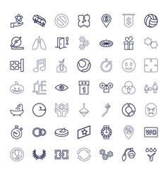 Circle icons vector