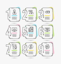 Copyrighter human resources and web tutorials vector