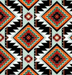 First nations seamless pattern vector image