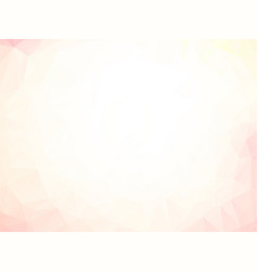 light low poly background vector image