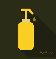 Liquid soap icon cartoon of liquid soap icon for vector