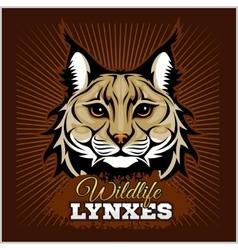 Lynxes - emblem vector