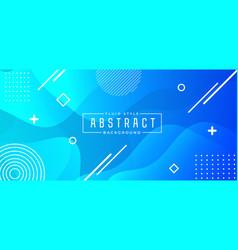 minimalistic horizontal banner background vector image