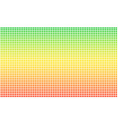Rasta flag dotted pixel aspect ratio 35 vector