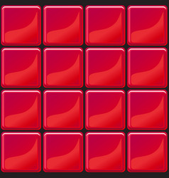 red tiles texture seamless vector image