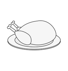 Thanksgiving related icon image vector