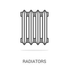 icon gas equipment vector image vector image