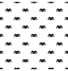 Jester hat pattern simple style vector image
